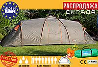 Туристическая Палатка Намет AbarQs CLIF-8 Зеленая (для 8 человек) Польша