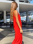Свободный летний сарафан на тонких бретелях длиной ниже колен 83031488, фото 4