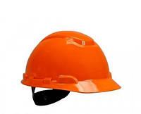 Каска 3М H-700C-OR, штифтовая застежка Оранжевый