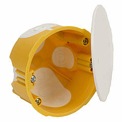Универсальная коробка с крышкой v 68 Ø73х45мм Копос KUL 68-45/LD_NA