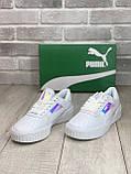 Кросівки Puma Cali White/Пума Калію, фото 6