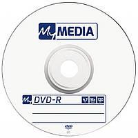 Диск DVD-R для відео MyMedia 16x Bulk/50