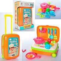 """Набор игрушечной посуды """"Кухня"""" в чемодане 891"""