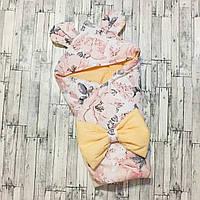 2 в 1 Одеяло конверт на выписку в роддом для прогулок