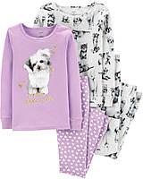 Набор из 2-х пижам для девочки Carters Размер 18 месяцев