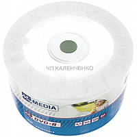 Диск DVD-R MyMedia Рrintable Bulk/50 (принтовые)