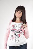 Стильные женские свитшоты с принтами от производителя оптом и в розницу