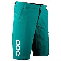 Велошорти POC Trail Shorts 32 berkelium green зелений