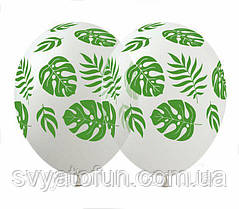 Латексные воздушные шарики Тропики 20шт/уп LE-22 ArtShow