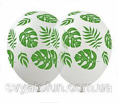 Латексные воздушные шарики Тропики 100шт/уп LE-22 ArtShow