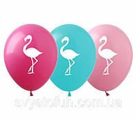 Латексные воздушные шарики Фламинго пастель 100шт/уп РН-27 ArtShow