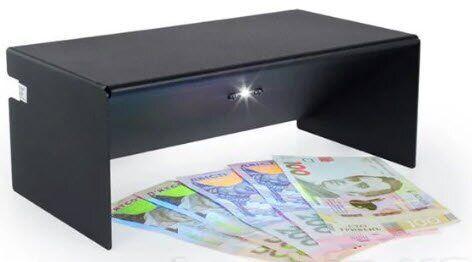 Светодиодный детектор валют ВДС-51 настольный черный