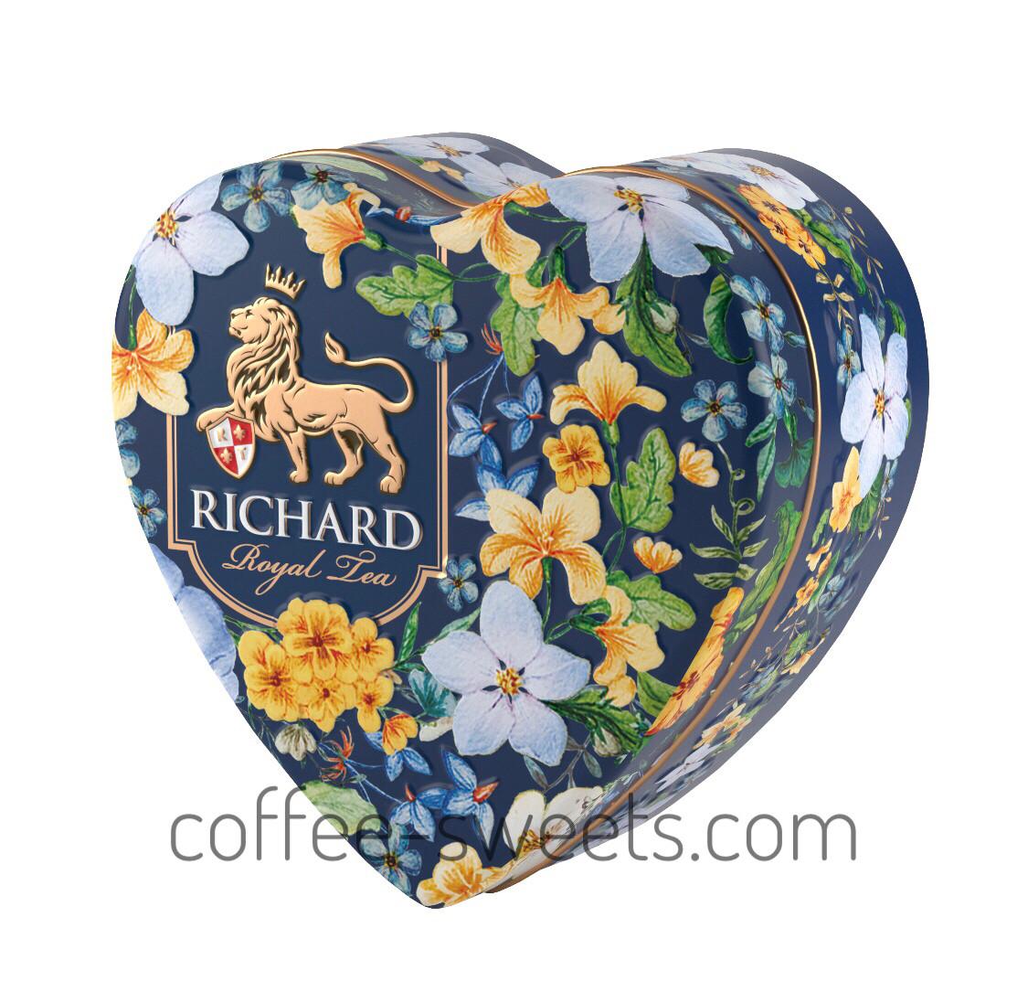 """Чай черный RICHARD 30г """"Royal Heart"""" фруктовый"""
