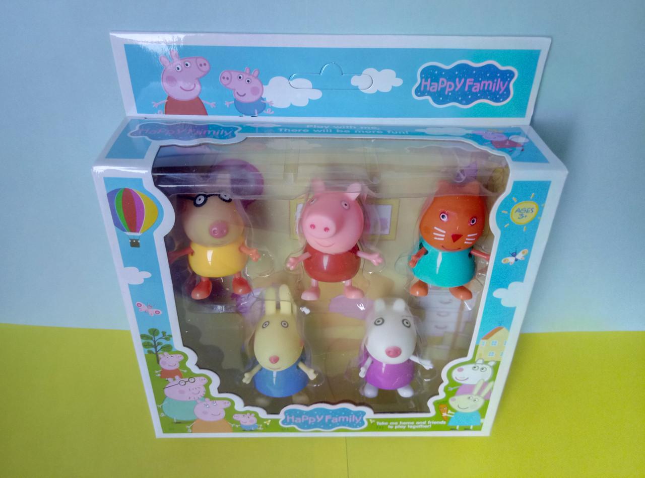 Игровой набор героев Свинка, 5 персонажей №1