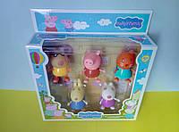 Игровой набор героев Свинка, 5 персонажей №1, фото 1