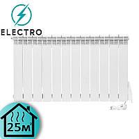 Электрорадиатор ELECTRO.12Т, стандарт 500/96 (168Вт) термостат 1300Вт