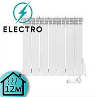Электрорадиатор ELECTRO.6S, стандарт 500/96 (168Вт) программатор 650Вт