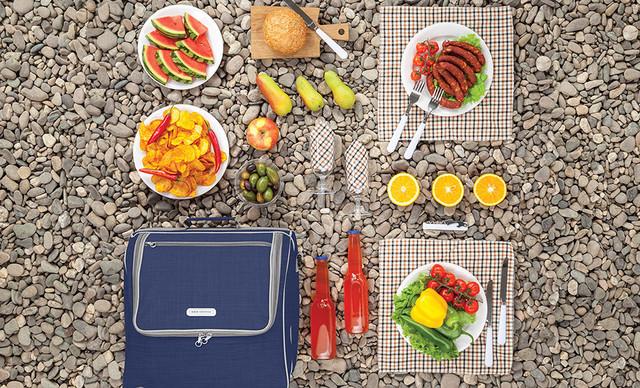 сумка для пікніка з посудом