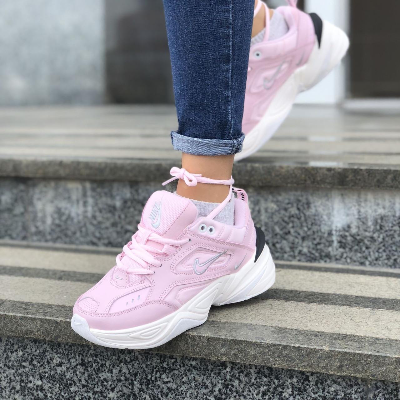 Женские кроссовки в стиле Nike M2k Tekno Pink