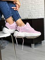 Женские кроссовки в стиле Nike M2k Tekno Pink, фото 2