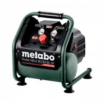 Аккумуляторный компрессор Metabo Power 160-5 18 LTX BL OF каркас