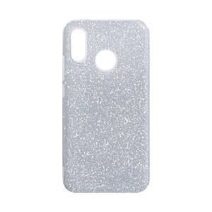 Чохол для Huawei P20 Lite Glitter Case Silver з блештяшками накладка на хуавей п20 лайт сіра