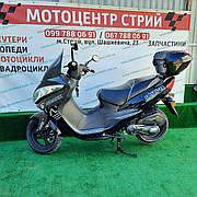 Скутер Spark SP150S-28 (черный) MAXI