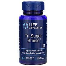 "Комплекс для снижения сахара в крови Life Extension ""Tri Sugar Shield"" (60 капсул)"