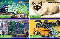 Альбом для малювання, А4, 40 аркушів, 120 г/м2, на пружині, KIDS Line /120/