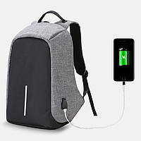 Рюкзак антивор Kalidi Bobby bag защита от воров USB разъем Разные цвета