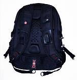 Стильный городской рюкзак Swissgear 8810 + Чехол, фото 7