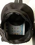 Стильный городской молодежный рюкзак с заклепками, фото 5