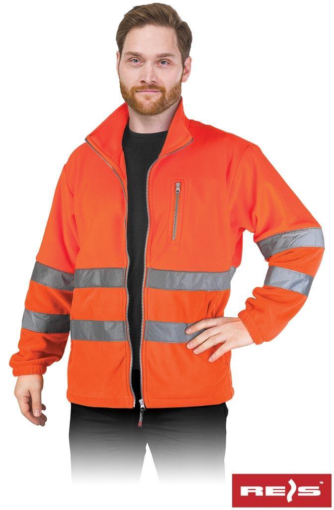 Куртка робоча чоловіча з светоотражаючимы смугами REIS POLSTRIP P