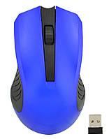 Беспроводная оптическая мышь Zeus M220 Blue (6968)