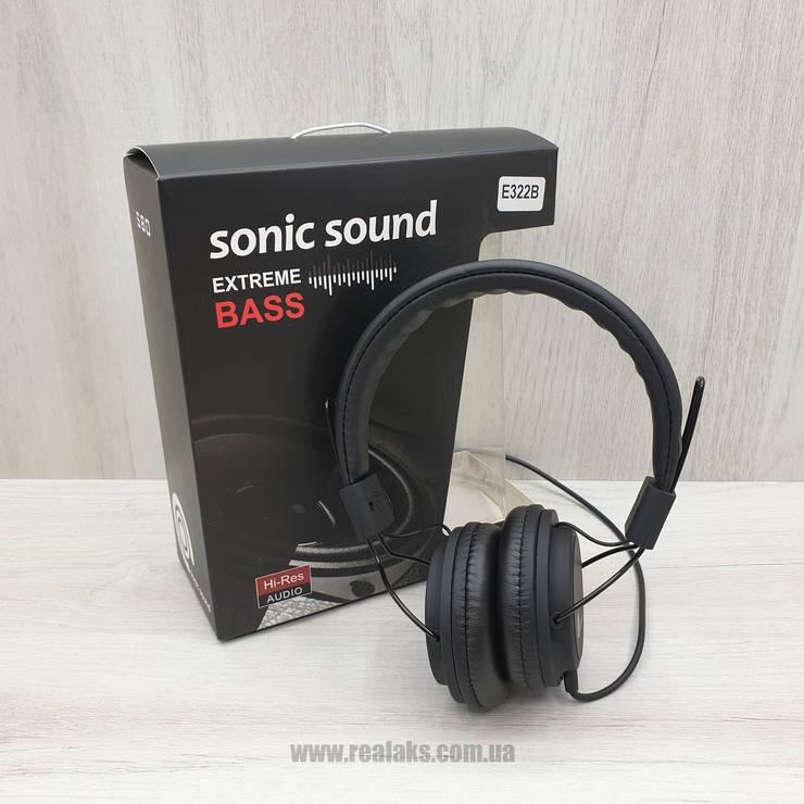Наушники YWZ Sonic Sound E322B (Black), фото 2