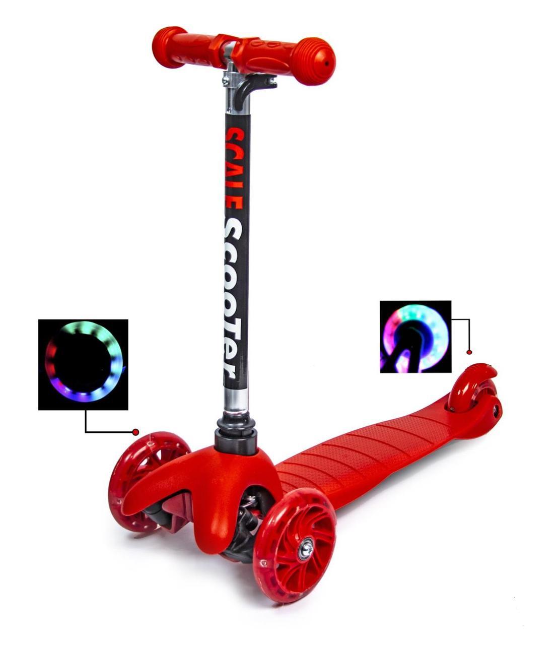 Самокат детский Best ScooTer Mini (Красный) - Самокаты