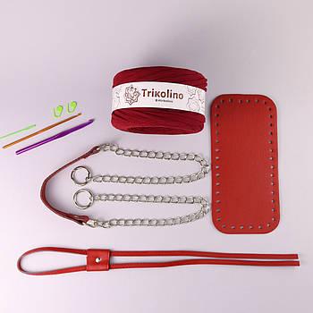Набор для сумки-торбы Красный МАКСИ (8 позиций-Бордо)