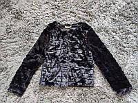 Шубка женская черная, фото 1