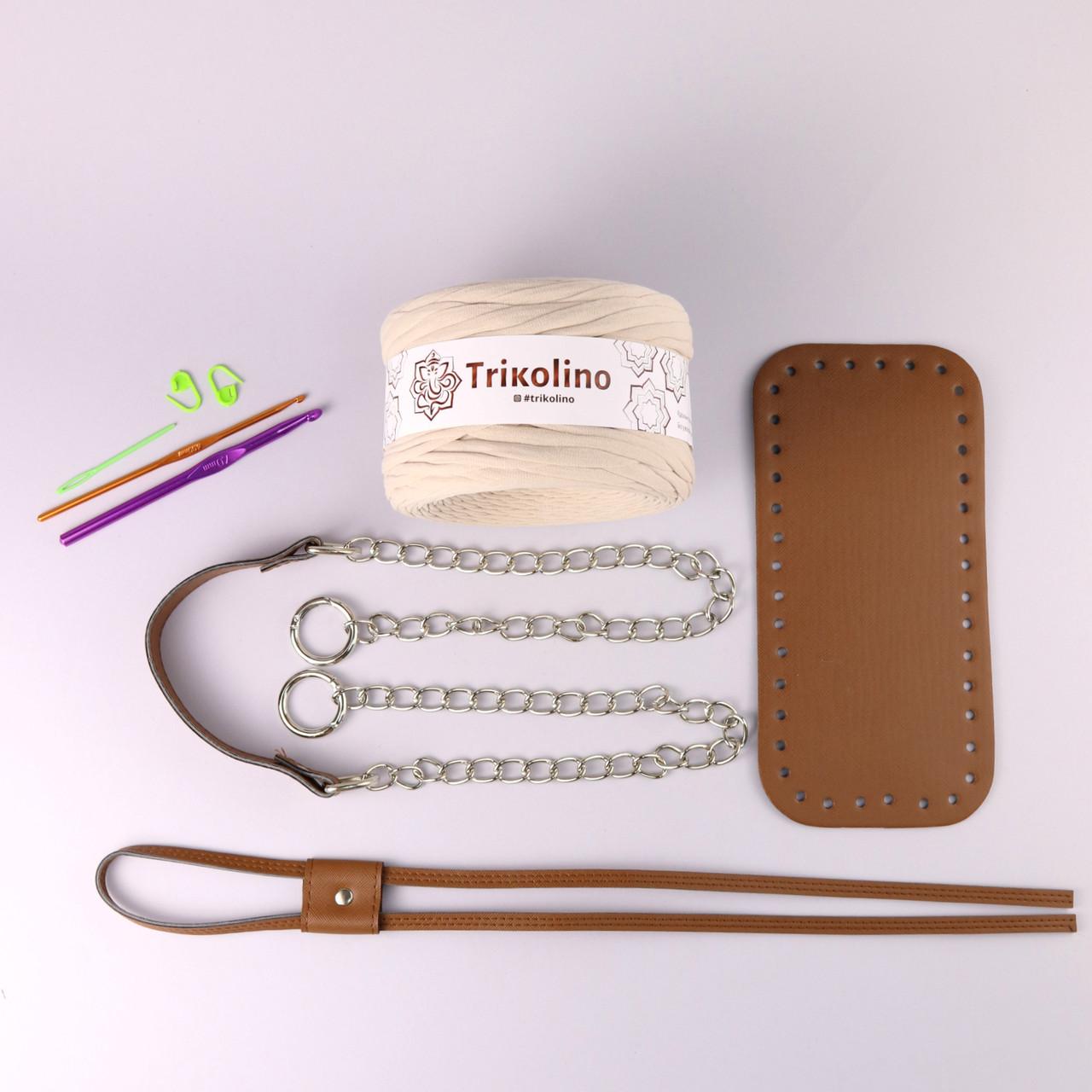 Набор для сумки-торбы Браун МАКСИ (8 позиций-Бежевый)