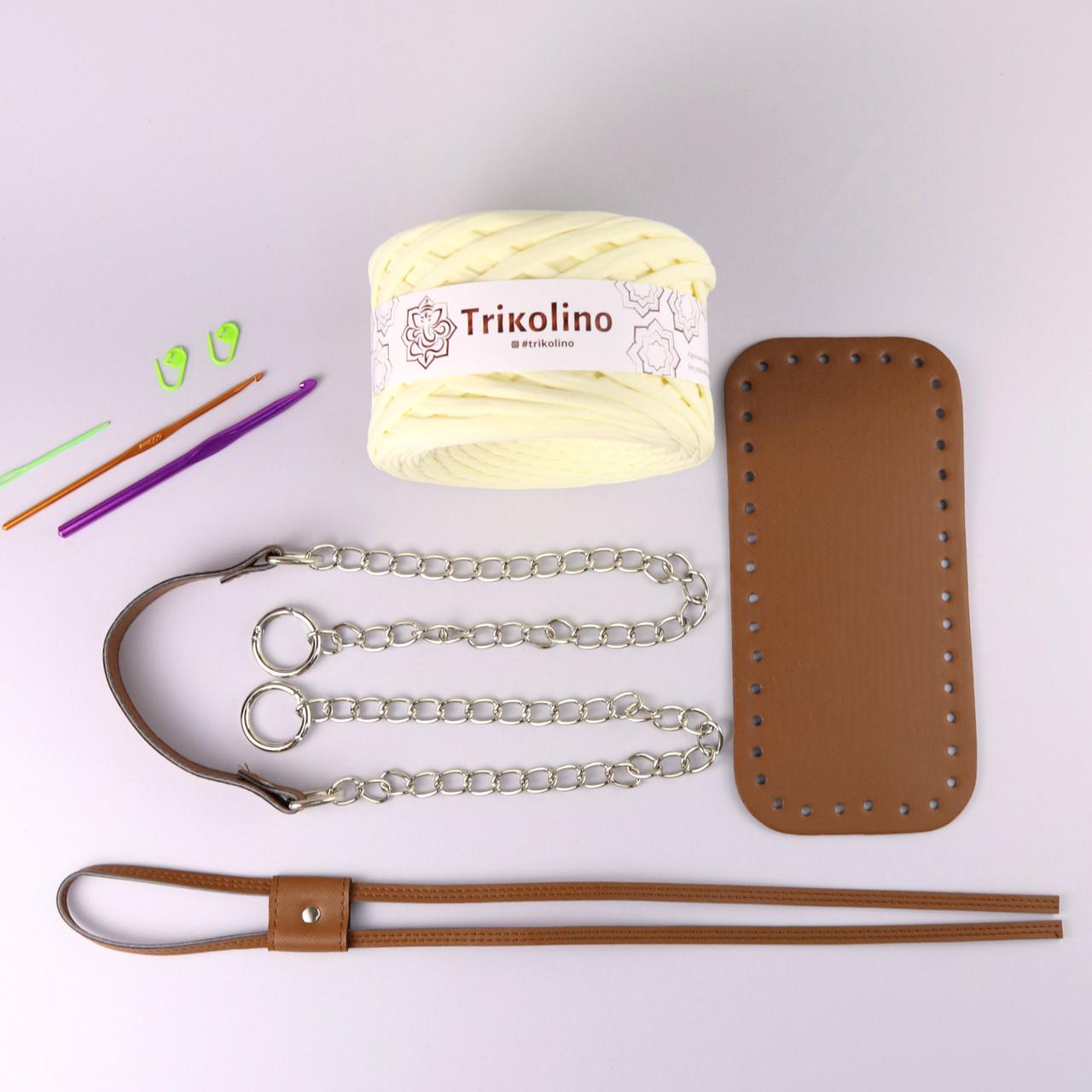 Набор для сумки-торбы Браун МАКСИ (8 позиций-Ванильный пудинг)