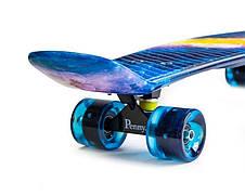 Пенни борд Penny 27″ Nickel с рисунком Universe Светящиеся колеса - Скейтборды и роллерсерфы, фото 2