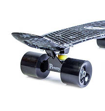 Пенни борд Penny 22″ с рисунком Arrows Матовые черные колеса - Скейтборды и роллерсерфы, фото 2
