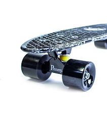 Пенни борд Penny 22″ с рисунком Arrows Матовые черные колеса - Скейтборды и роллерсерфы, фото 3