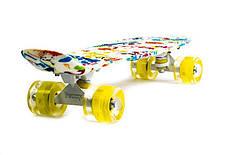 Пенни борд Penny Versicolor 22″ со светящимися колесами - Скейтборды и роллерсерфы, фото 2