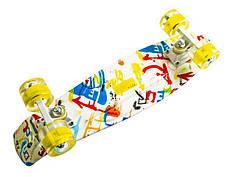 Пенни борд Penny Versicolor 22″ со светящимися колесами - Скейтборды и роллерсерфы, фото 3