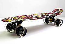 Пенни борд Penny Deck 22″ со светящимися колесами - Скейтборды и роллерсерфы, фото 2