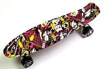 Пенни борд Penny Deck 22″ со светящимися колесами - Скейтборды и роллерсерфы, фото 3