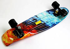 Пенни борд Penny 27″ Nickel с рисунком Fire and Ice 2 - Скейтборды и роллерсерфы, фото 2