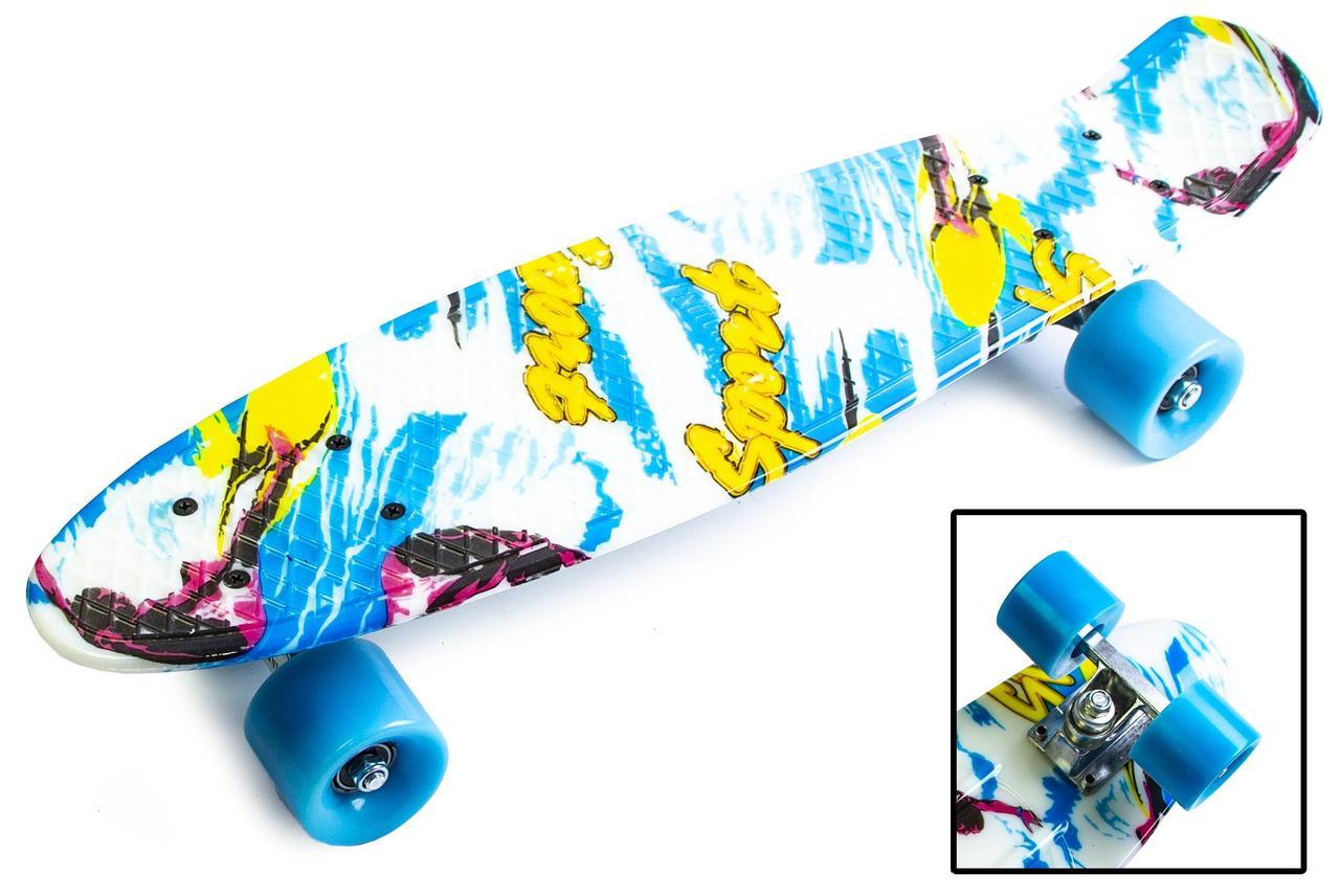 Пенни борд Penny 22″ с рисунком Sport surfing - Скейтборды и роллерсерфы