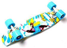 Пенни борд Penny 22″ с рисунком Sport surfing - Скейтборды и роллерсерфы, фото 2